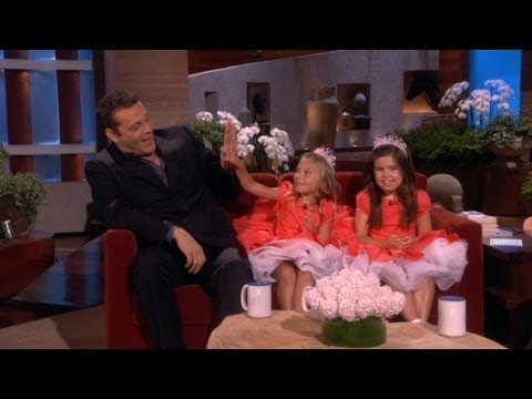Sophia Grace & Rosie Tell Vince Vaughn Jokes