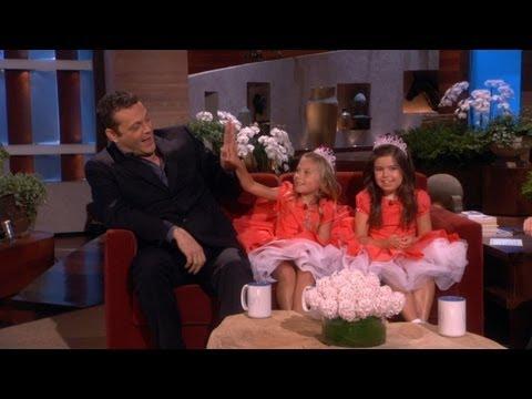 Sophia Grace & Rosie Tell Vince Vaughn Jokes