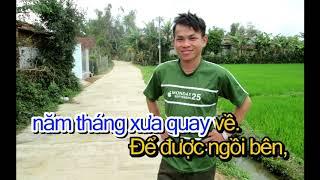 DEM MUA NHO ME -  KARAOKE - HUYNH NGOC NAM