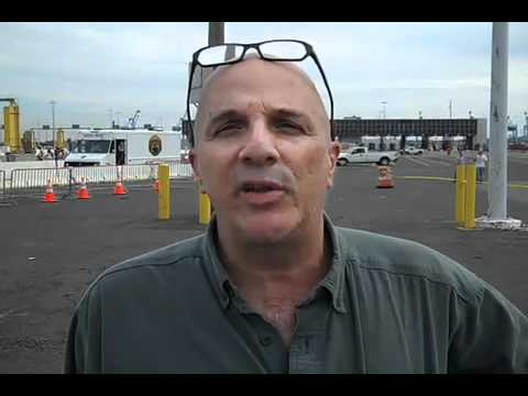 Port of Philadelphia port worker Gus Rosanio