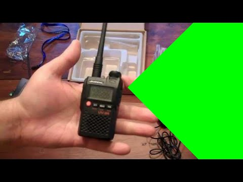 The Baofeng UV-3R VHF UHF ham radio