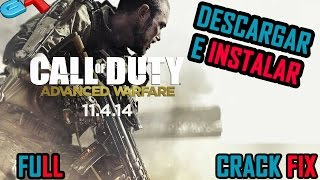 Instalar Call of Duty Advanced Warfare Español + Crack fix DLC