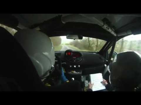 RALLYE DU TOUQUET 2012 - ANTHONY CAPLAN JULIEN BICHON TWINGO R1 - PARTIE 2
