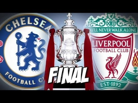 Fifa 13 - Chelsea x Liverpool - Final F.A CUP - Melhores momentos da partida