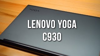 Why I Love The Lenovo Yoga C930 - It's All About Attention To Detail!
