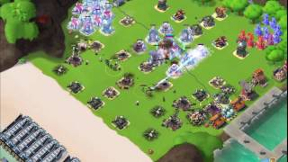 Boom Beach — JessieZX7 raided Ашвилорд, RMZC 64/68/84 VS 6 boosted ices