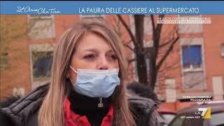 Emergenza Coronavirus, la paura delle cassiere al supermercato