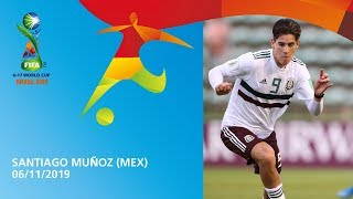 Muñoz  v Japan [GOAL OF THE TOURNAMENT] - FIFA U17 World Cup 2019 ™