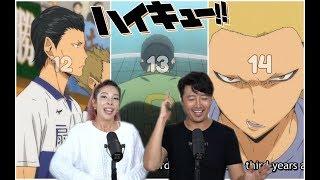 KARASUNO VS OUGIMINAMI/KAKUGAWA + MAD DOG!! HAIKYU S2: E12,13, & 14!! REACTION + REVIEW!!