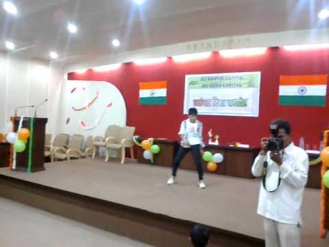 bharat mata ki jai dance of umesh panjwani