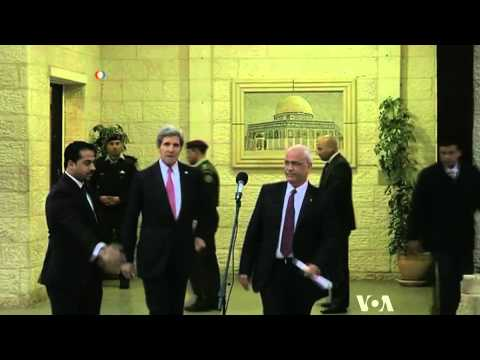 Kerry Cites Some Progress in Mideast Peace Talks