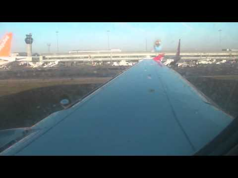 Onboard Virgin Atlantic 'Little Red' Inaugural Takeoff from Manchester