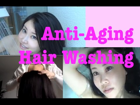 How to wash your hair in the most anti-aging way