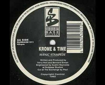 Krome & time - Manic Stampede (old skool 1992)
