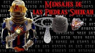 Curiosidades de Zelda Ocarina of time: Mensajes de las piedras Sheikah