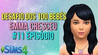 The Sims 4 - Desafio dos 100 Bebês Emma Cresceu que Fofa #11 Episódio