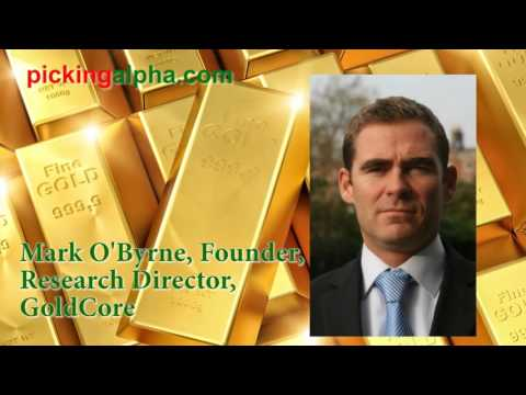 GoldCore on What Driving Gold Prices Up Now
