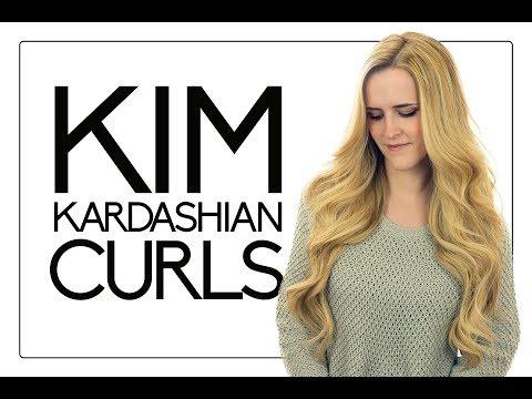 Kim Kardashian Curls