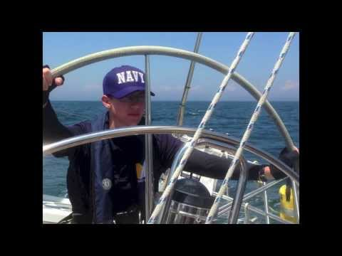 USNA Offshore Sail Training Squadron: Annapolis to Essex