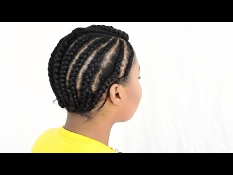 Braid Pattern For U-Part Wig Install Tutorial – (Part 2 of 6)