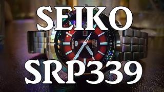 Seiko 5 Sports SRP339 - Review, Measurements, Lume, Breadsmash