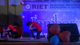 Dance on Abhi Mujh Mein Kahin ,chitiya kalaiya ve & Baby doll  on  Hostal day Jamboree @ RIET_Jaipur