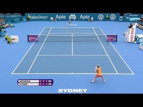 Sam Stosur 2015 Apia International Sydney Hot Shot