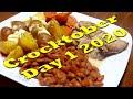 Crocktober Day #1   2020   October 1st, 2020   Crockpot Meal   What's for Dinner Tonight?