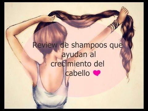 Review de Shampoos que ayudan al crecimiento de cabello.