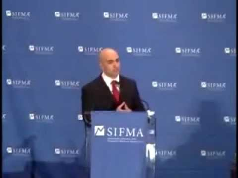 SIFMA's TARP Summit: Neel Kashkari, U.S. Treasury