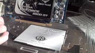 Unboxing:  BFG Tech Nvidia GeForce 8600 GT