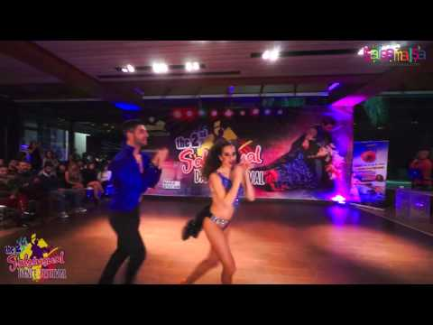Elektra & Thodoris Salsa Show - 2.Salsensual Dance Festival Lebanon