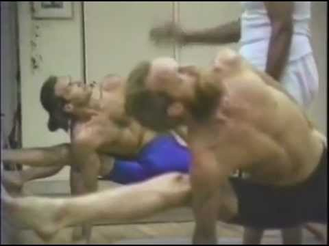Ashtanga advanced practice with Sri K Pattabhi Jois 1989 Encinitas