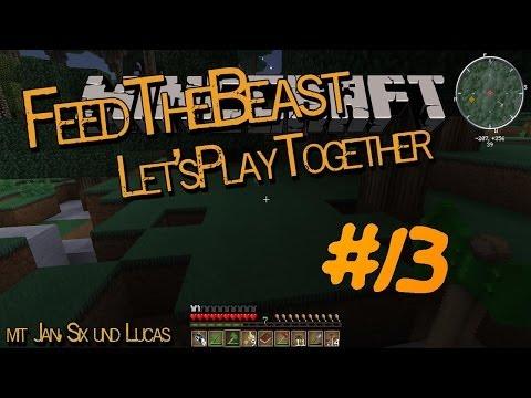 LPT Feed the Beast #13 Minecraft Lets Play Together mit Jan. Six und Lucas deutsch german