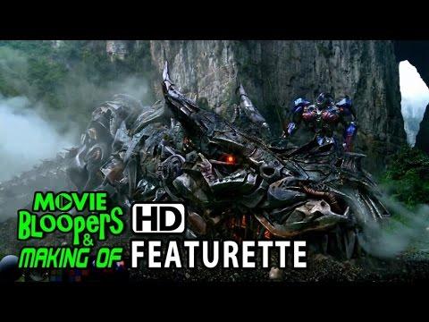 Transformers: Age of Extinction (2014) Blu-ray Featurette - Dinobots VFX