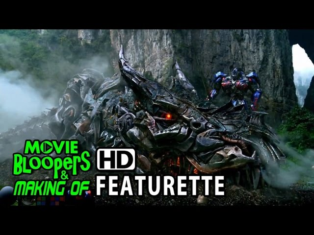 Transformers: Age of Extinction (2014) Blu-ray Featurette - Dinobots VFX