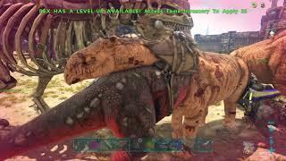 Meat Running vVv on Server 332 (PVE / Demonic) (ARK PvP PS4)