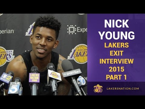Lakers Exit Interview 2015: Nick Young PT. 1, Blames Rim For Poor Shooting