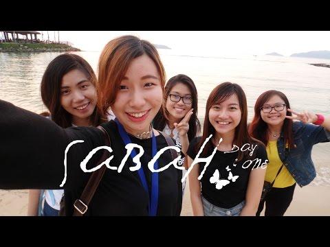 SABAH 女行の旅行 #EP1 Travel Vlog 04 APR 16'