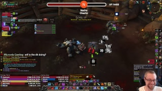 🔶🔵🔶 Pugging Highest Mythic+ Keys I can Find - Blood DK Tank POV