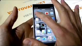Видео обзор Inew V3 ультратонкий бюджетный телефон с NFC купить в Украине
