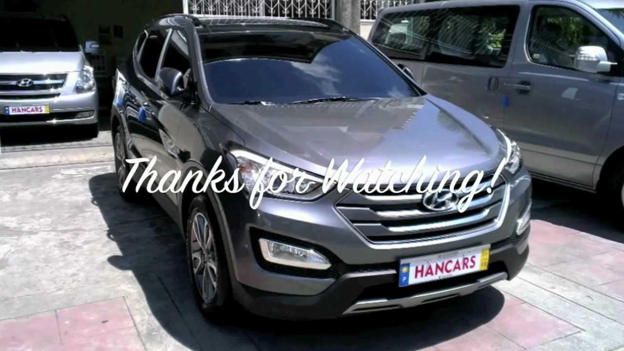 All New 2013 Hyundai Santa Fe First Look Youtube