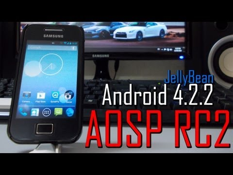 Best JellyBean ROM! AOSP JB RC2 Android 4.2.2 JellyBean by Maclaw