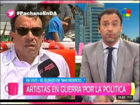 Aníbal Pachano denunció que sufrió ataques políticos