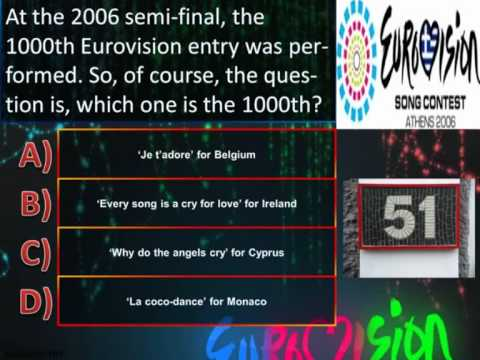 Eurovision Trivia Quiz *Question 51: 2006* klip izle