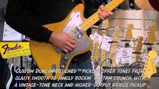 Squier Vintage Modified Jazzmaster Butterscotch Blonde demo - PMTVUK