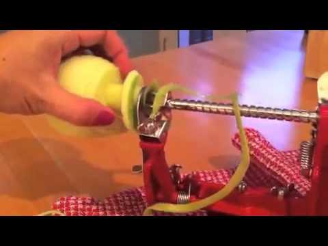 Kitchen Gadgets We Like  Apple Peeler + Corer