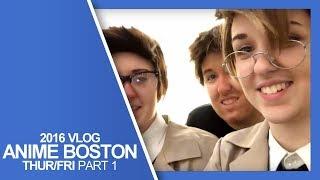 Anime Boston 2016 Con Vlog - Part 1