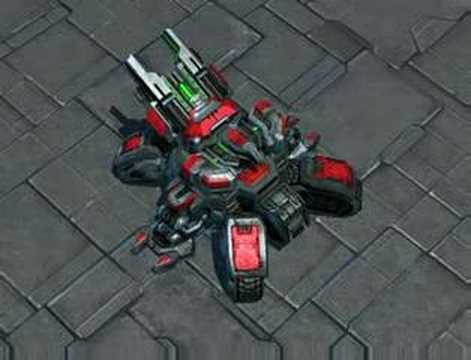 Starcraft 2 Crucio Siege Tank Transform