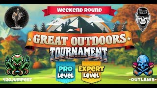 Golf Clash - Great Outdoors - Pro and Expert Weekend Round